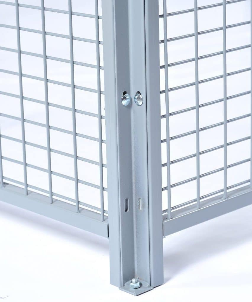 2180 welded wire partitions